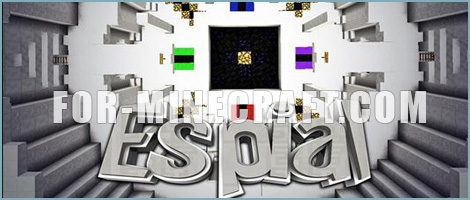 «ESPIAL» map for Minecraft Pocket Edition
