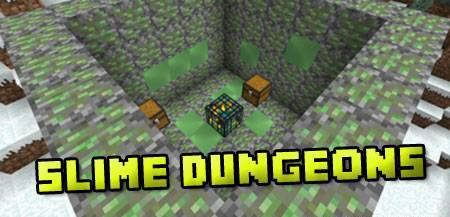 Slime Dungeons mod for Minecraft 1.7.2
