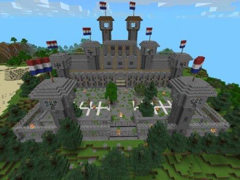 Map «PRISON ESCAPE» for Minecraft Pocket Edition