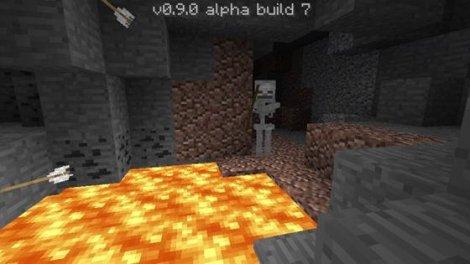 Diamond mining in Minecraft Pocket Edition