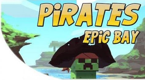 Map - Epic Pirate Bay for Minecraft