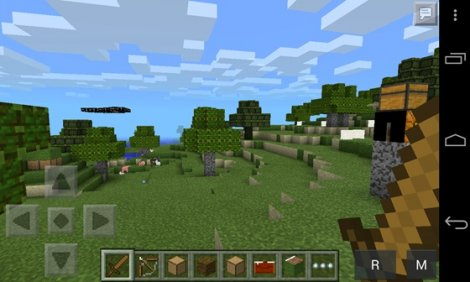 Mod to unlimited visibility for Minecraft PE 0.9.5