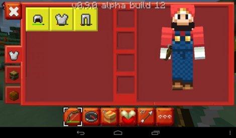 Textures «Super Mario Craft» for Minecraft PE [0.9.5]