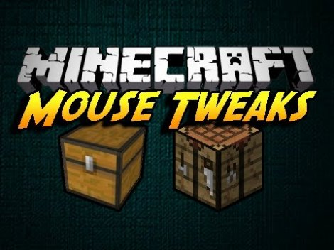 Mouse Tweaks Mod for Minecraft 1.7.10