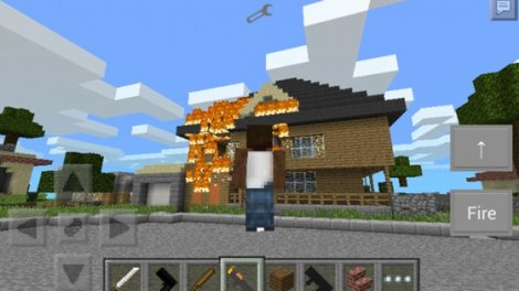 Mod «GTA San Andreas» for Minecraft PE 0.9.5.1