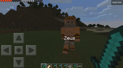 Heroes Of Olympus Mod- fight with the gods of Olympus in Minecraft Pocket Edition!