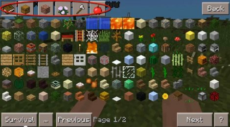 Too Many Items v.16 for Minecraft Pocket Edition 0.9.5.2