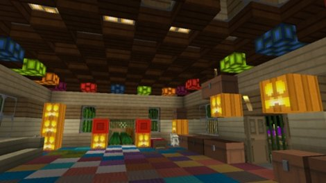 Minecraft PE 0.9.5: MORE GLOWSTONE MOD
