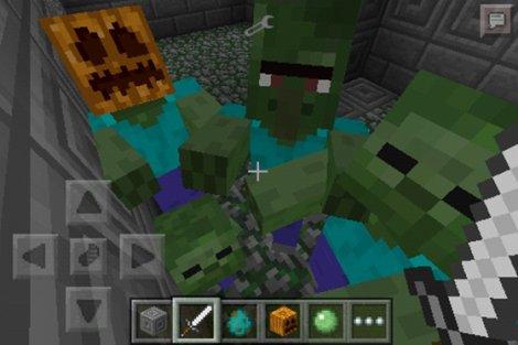 Minecraft PE 0.9.5.2: MORE ZOMBIES MOD