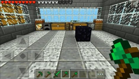 Emerald Tools and Armor for Minecraft Pocket Edition 0.9.5.2