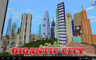 City Map For Minecraft pe