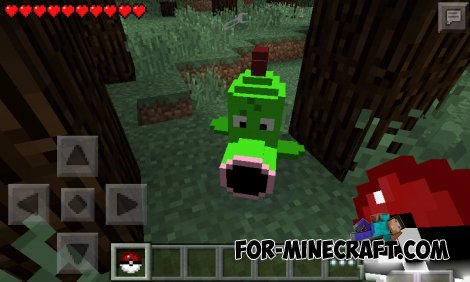 Pokemon Mod for Minecraft PE 0.9.5