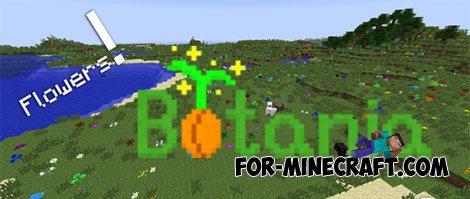Botania mod for Minecraft Pocket Edition 0.10.0
