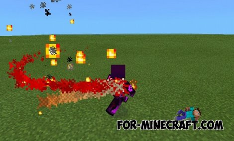 RED SPIRIT BOSS MOD for Minecraft Pocket Edition 0.9.5 / 0.10.0