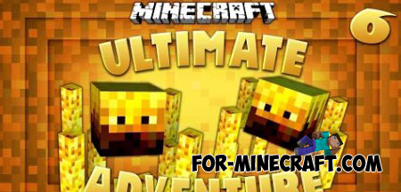 Ultimate Survival mod for Minecraft PE 0.9.5, 0.10.0