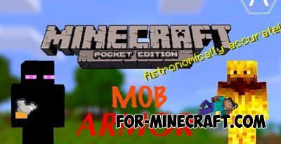 Mob Armor texture for Minecraft PE 0.10.0