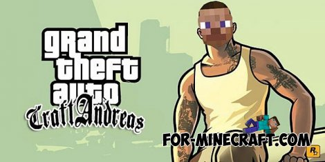 GTA San Andreas MOD v3.0 for Minecraft PE 0.10.0