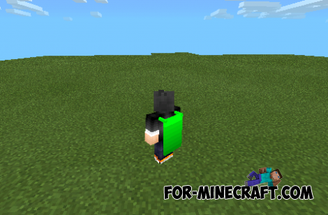 Raincoats mod for Minecraft PE 0.10.0!