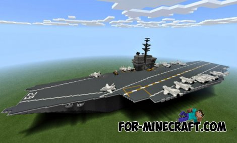 U.S.S. INDEPENDENCE CVN-65 for Minecraft PE 0.10.3