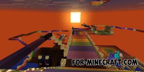 Rainbox road Map for Minecraft PE 0.10.0