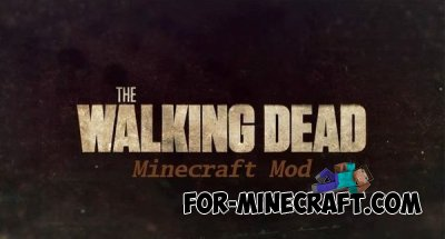 Walking Dead mod for Minecraft PE 0.9.5