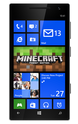 Minecraft Pocket Edition to Windows Phone