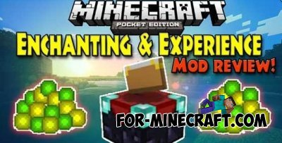 Enchanting & Experience mod for Minecraft 0.10.0