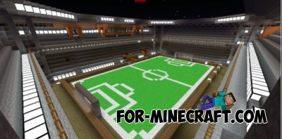 Football Stadium map for Minecraft Pocket Edition 0.10.4