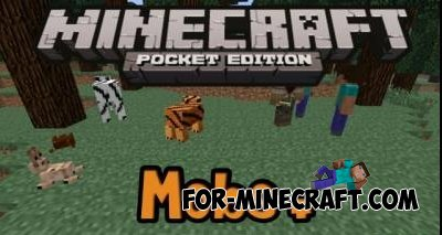 Mobs+ mod for Minecraft PE 0.10.4