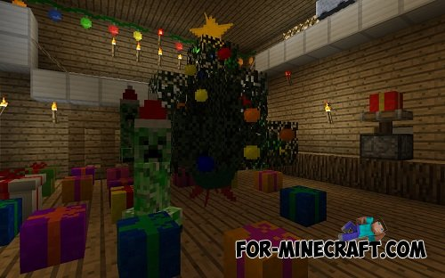 Christmas Decorations In Minecraft Pe : Mods for minecraft pocket edition