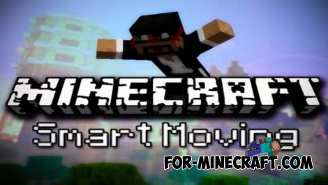 SmartMoving mod for Minecraft PE 0.10.X