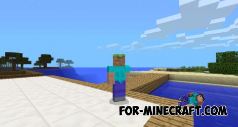Block -Head Mod for MCPE 0.10.X