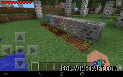"""Rude Farm"" mod for Minecraft PE 0.10.4"