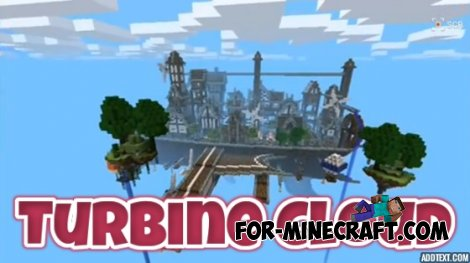 """Turbine Cloud"" Map for Minecraft Pocket Edition 0.10.4"