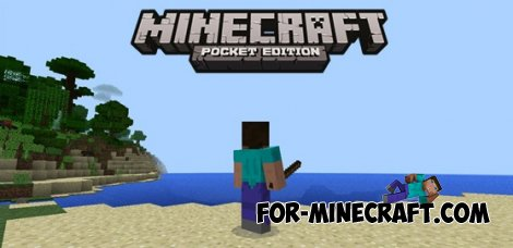 Stick Explosion mod for Minecraft Pocket Edition 0.10.4