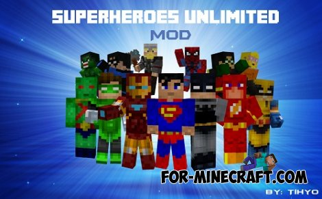 Marvel mod for Minecraft PE 0.9.5