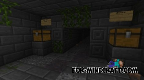 The Maze Runner map for Minecraft PE 0.10.4