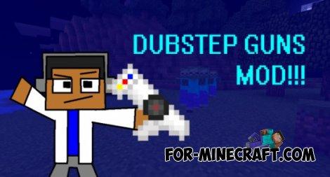 Dubstep Gun mod for MCPE 0.10.4