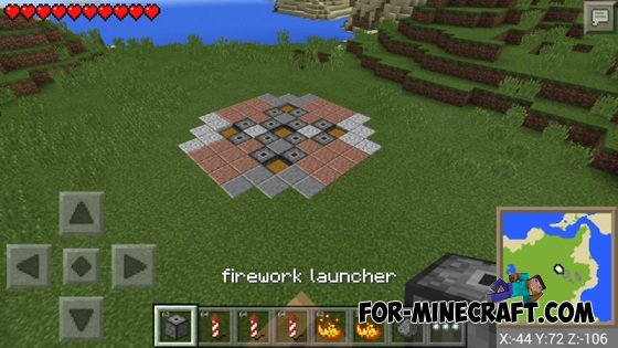 minecraft how to make fireworks ps3