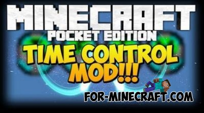 Time Control mod for Minecraft PE 0.10.4