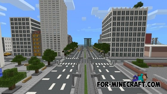 Timcity Map For Minecraft pe