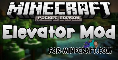 RhanCandia's Elevator mod for Minecraft Pocket Edition 0.10.4