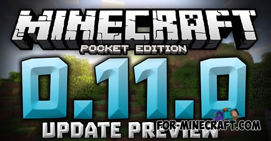 Minecraft pe 0 11 0 update preview