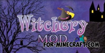 Witchery Mod for Minecraft PE 0.10.5