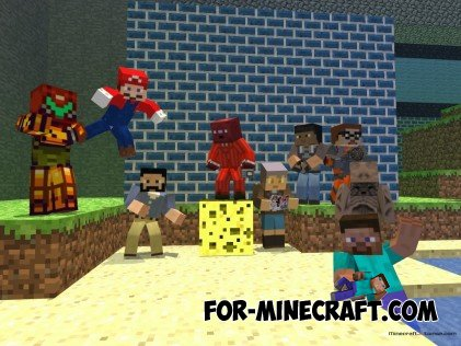 SkinPack for Minecraft in HD!