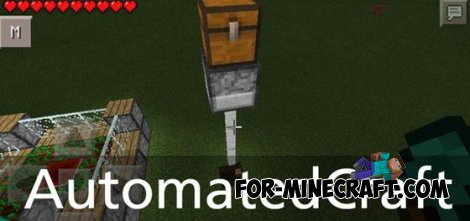 AutomatedCraft mod for Minecraft Pocket Edition 0.10.4