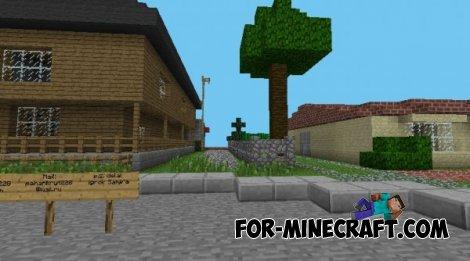 GTA SA map for Minecraft PE 0.8.1