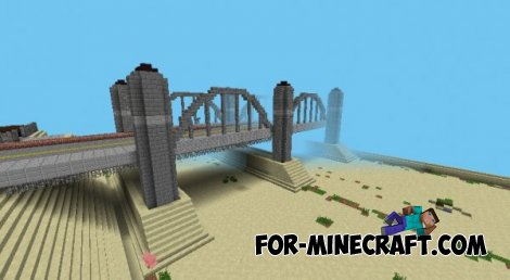 GTA SA map for Minecraft PE 0.8.1