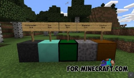 Nnew Ore mod for MCPE 0.10.4