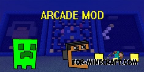 ARCADE mod for Minecraft Pocket Edition 0.10.4